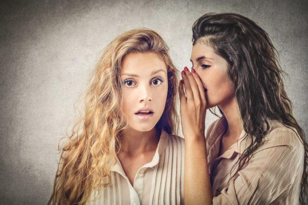 Девушка делится секретами