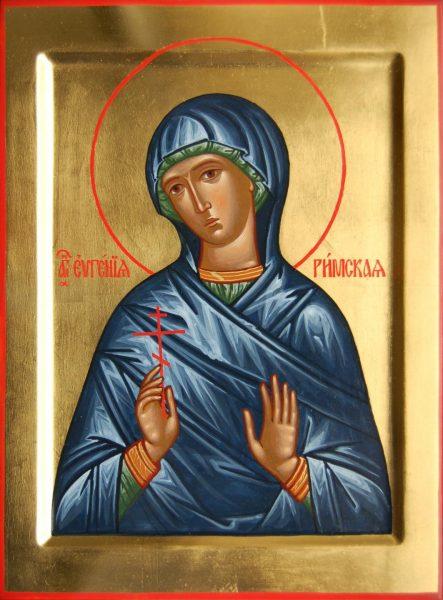 Икона святой Евгении Римской