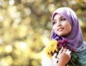 Красивая мусульманская девушка