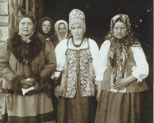 Женщины в старину на Руси