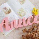 Декоративные буквы в форме имени Алиса