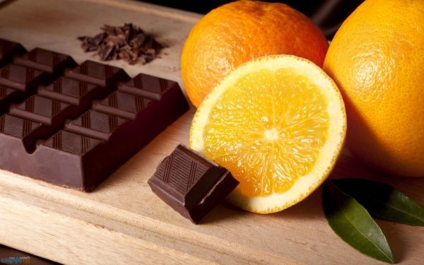 Апельсины и шоколад