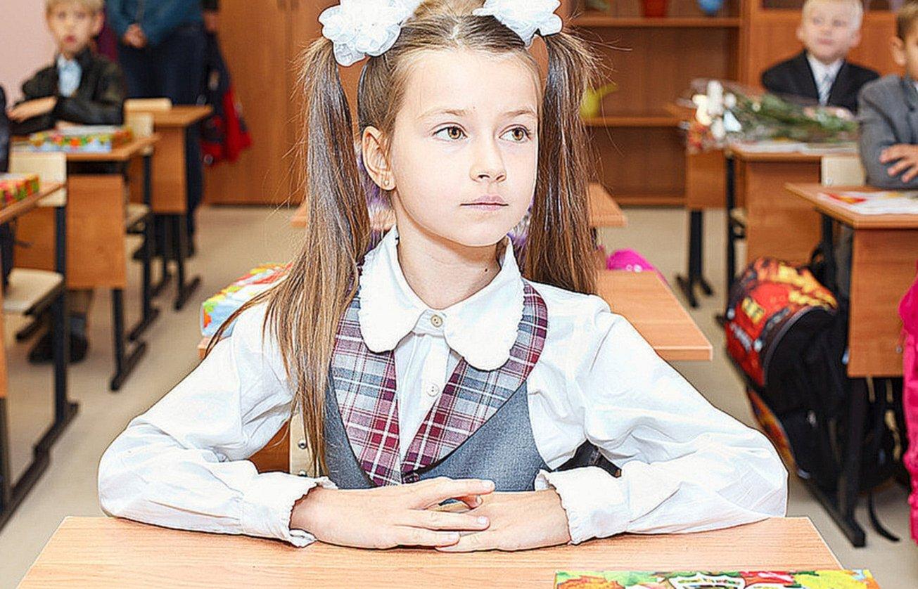 Картинки маленьких девочек в школе