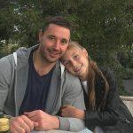 Илья Ковальчук с дочерью Каролиной