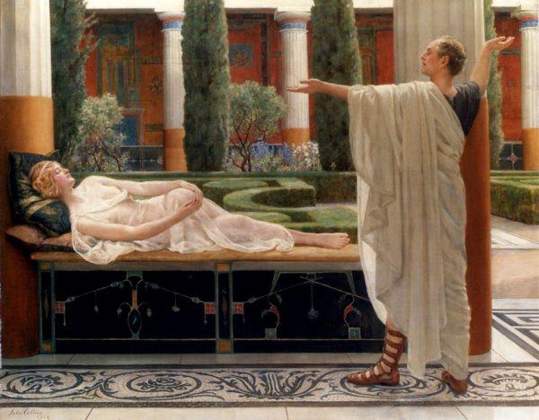 Кольер «Гораций и Лидия»