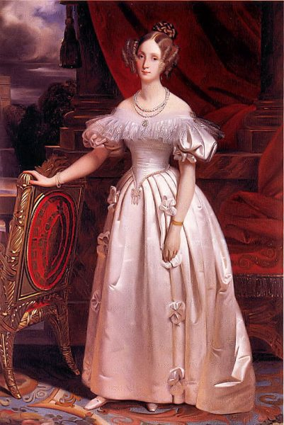 Женщина эпохи романтизма