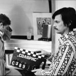 Андрей Тарковский на съёмках фильма «Сталкер»