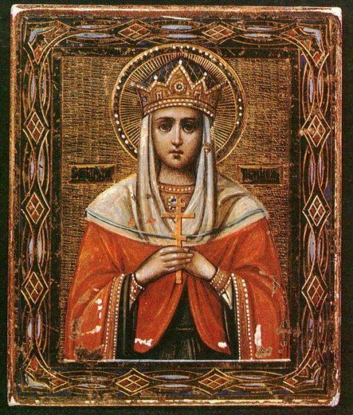 Икона святой царицы Тамары
