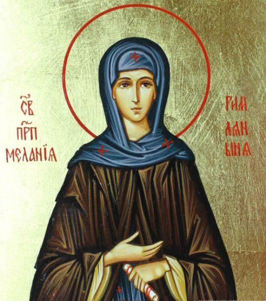 Икона святой Мелании