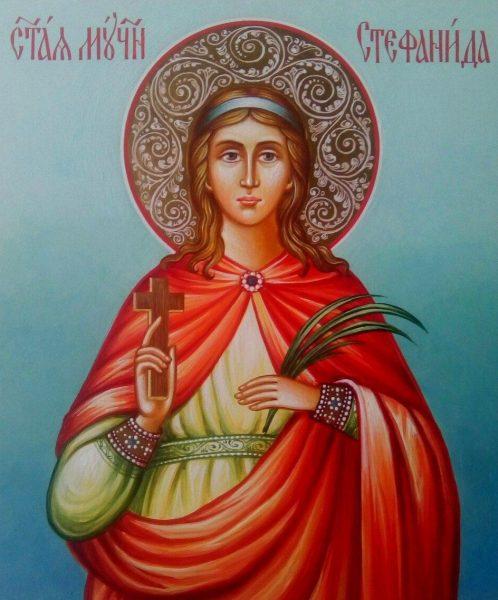 Икона святой Стефаниды Дамасской