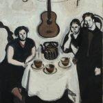 Картина Андрея Васнецова «Компания с гитарой»