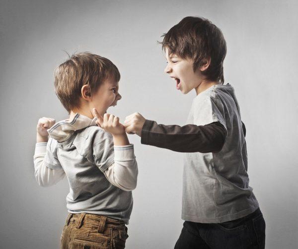 Мальчики ссорятся