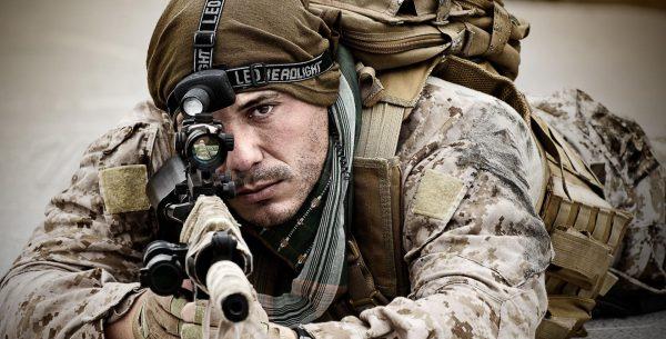 Солдат снайпер