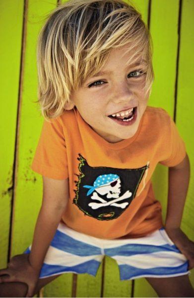 Улыбающийся мальчик
