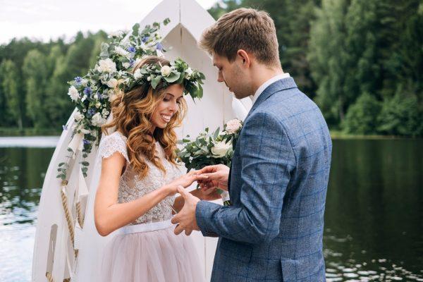 Элегантная свадебная церемония