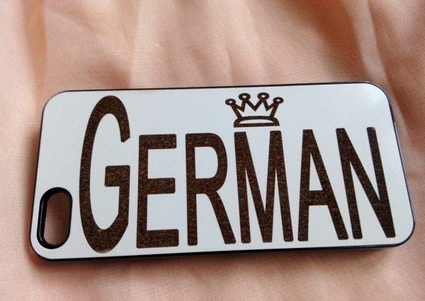 Чехол с именем German