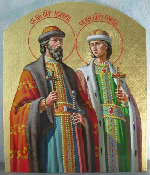 Икона Бориса и Глеба