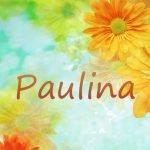 Имя Паулина