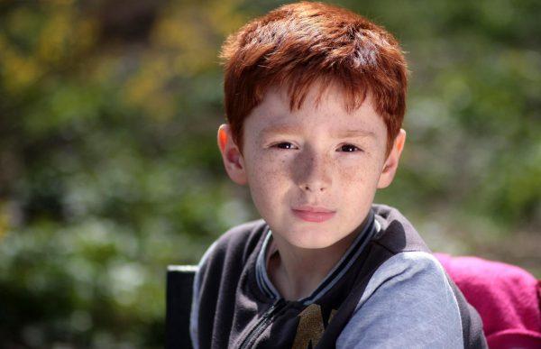 Мальчик с рыжими волосами