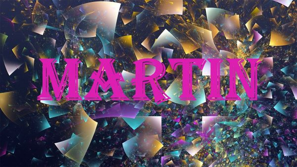 Надпись MARTIN