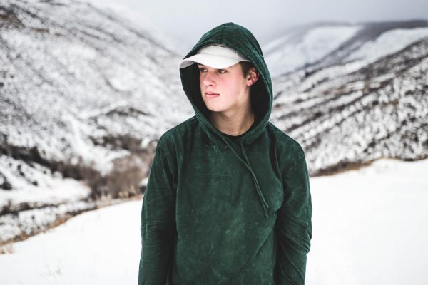 Парень в горах