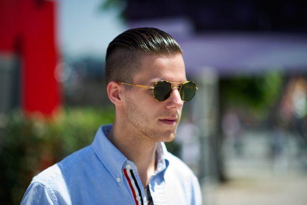 Парень в солнцезащитных очках