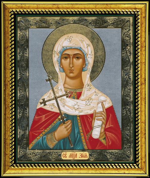 Иконографическое изображение св. Зои Вифлеемской
