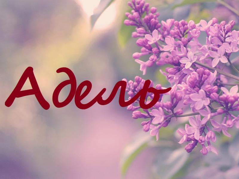Нежная Адель: значение и характеристика имени