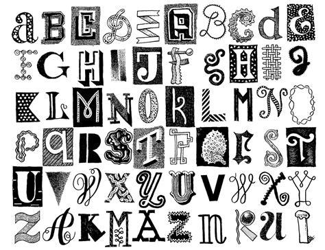 Чёрные буквы на белом фоне