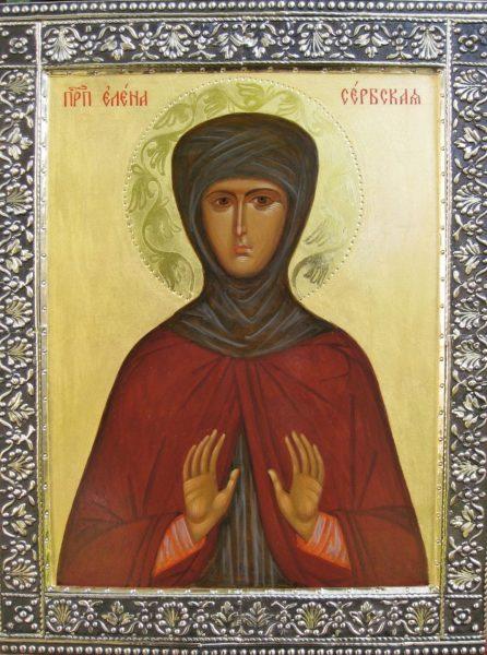 Елена Сербская, королева, преподобная