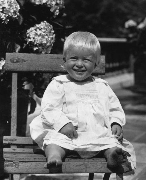 Филипп Эдинбургский в детстве
