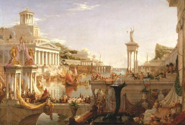 Античная Греция на фреске