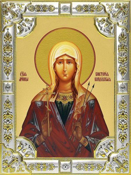 Икона со святой Викторией Кордубской