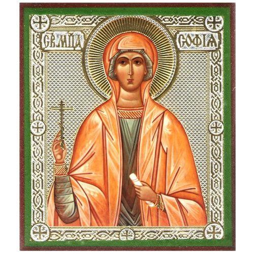 Икона Святой мученицы Софии