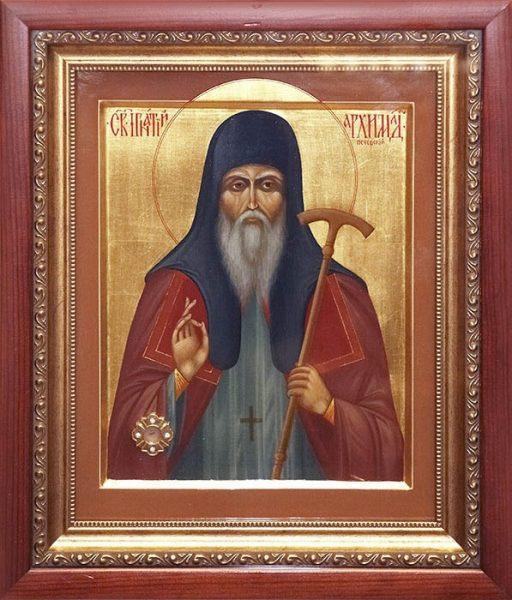 Икона Святителя Игнатия архимандрита Печерского