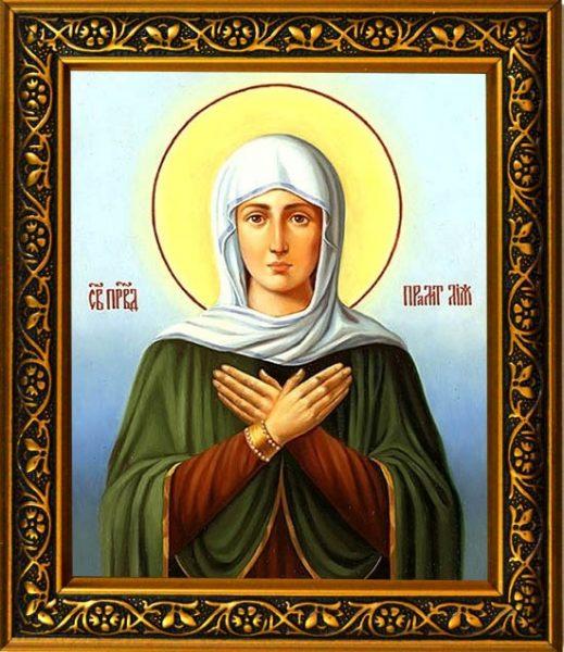 Икона святой праматери Лии
