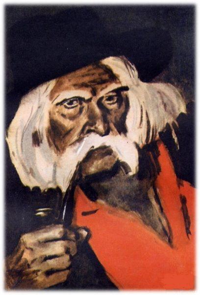 Изображение героя рассказа Макара Чудра