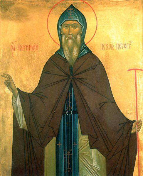 Корнилий Псково-Печерский, преподобномученик, игумен