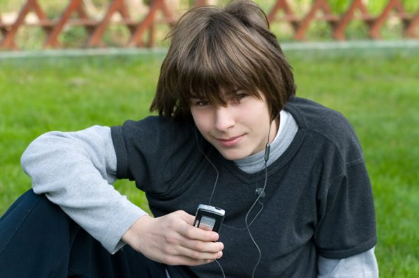Мальчик-подросток