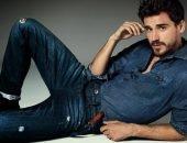 мужчин модель в джинсе