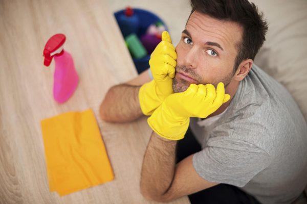Мужчина-домохозяйка