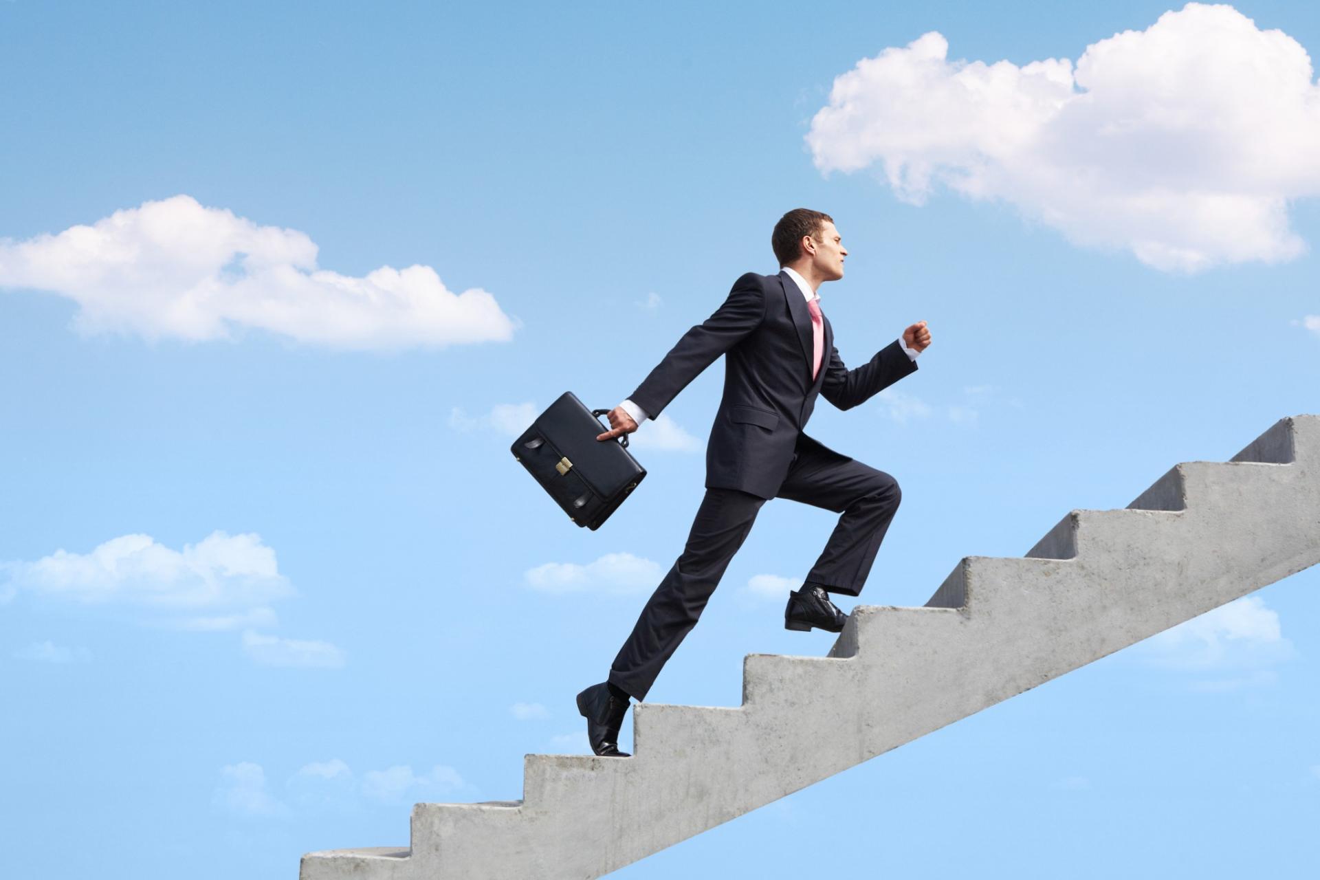 Продвижение по карьерной лестнице в картинках