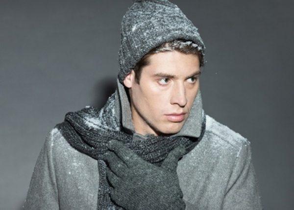 Мужчина в зимней одежде