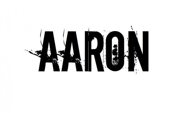 Надпись AARON