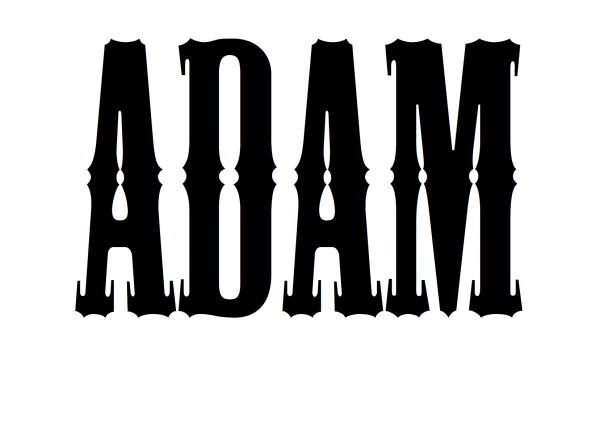 Надпись ADAM