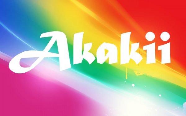 Надпись Akakii