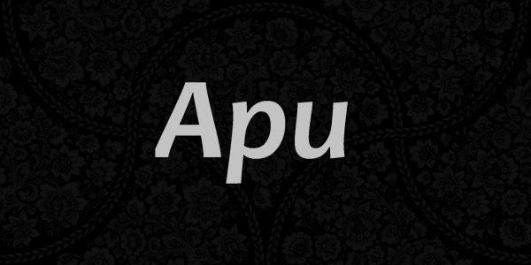 Надпись Ари