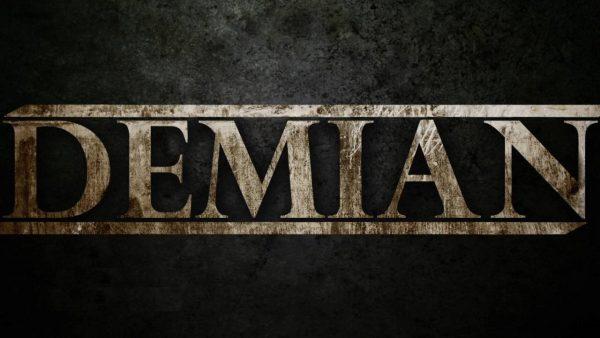 Надпись DEMIAN
