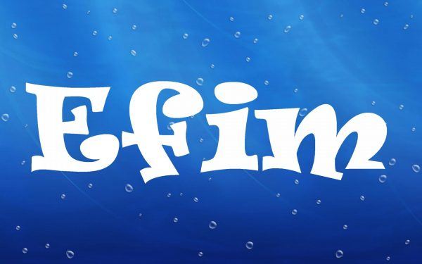 Надпись Efim