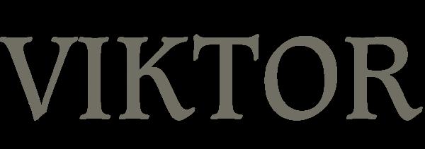 Надпись VIKTOR